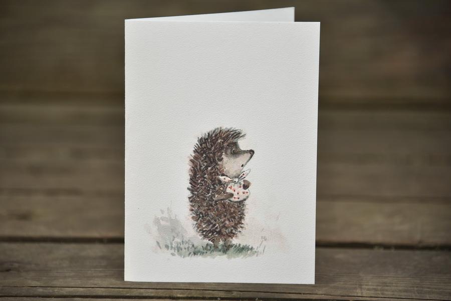 Картинки, открытки с ежиком открытки с ежиком